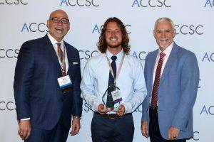 Chandler Dixon Outstanding Graduate Award Winner