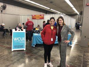 WCUI's Susan Ciardullo and Karla Navarrete from ABC15 Arizona